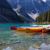 Image of Kayaks in Canada