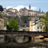 Image of a bridge in Clausen, Luxembourg City