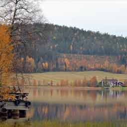 Lake in Sweden