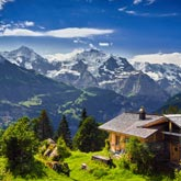 Image of the Swiss Alps, Switzerland