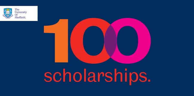 University of Sheffield offers 100 scholarships
