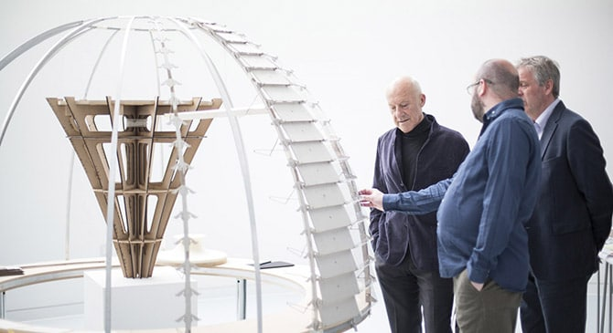 Lord Norman Foster commissions Arts University Bournemouth students to recreate original model