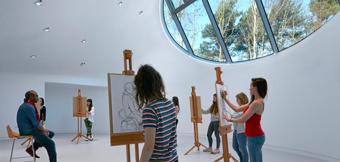 Drawing Studio, Arts University Bournemouth
