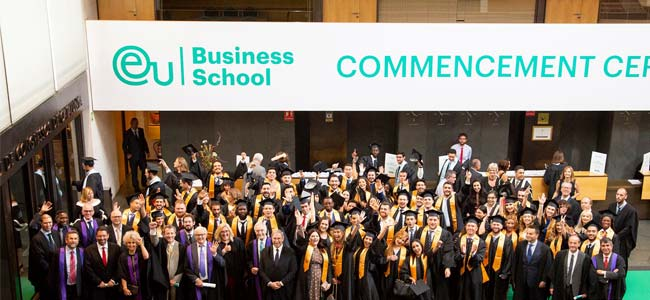 2018 Commencement Ceremony in Barcelona
