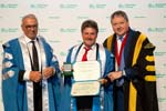 EU Business School Barcelona Hosts Former President Of Switzerland At 2018 Commencement Ceremony